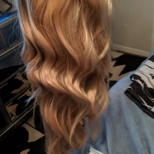 Accessories - Long  wavy front lace wig